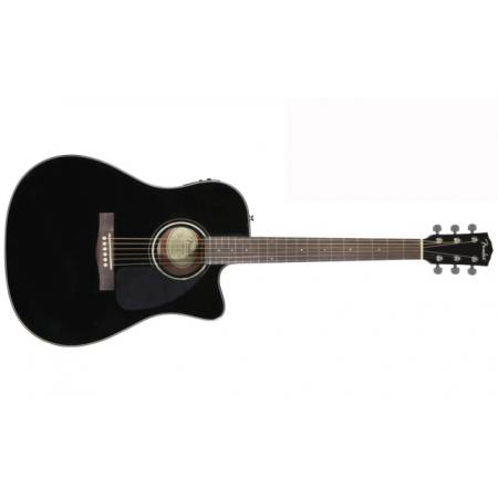 Guitarra Electro-acústica Fender CD-140SCE Black
