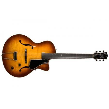 Godin 5th Avenue Jazz Sunburst HG Guitarra Eléctrica