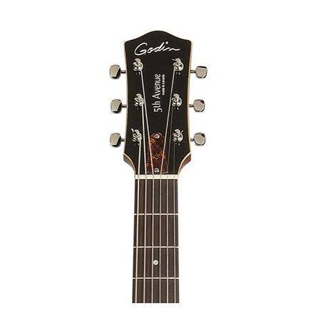 Godin 5th Avenue Uptown Solid Black GT Guitarra Eléctrica