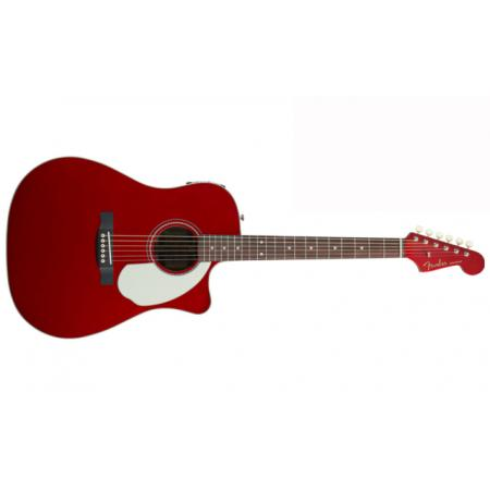 Guitarra Electro-acústica Fender Sonoran SCE Candy Apple Red