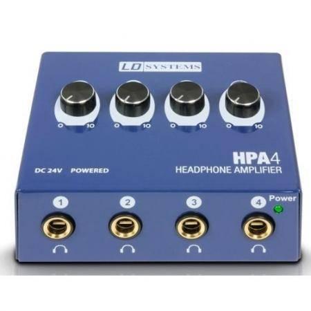 LD SYSTEMS LDHPA4 Amplificador de 4 Auriculares