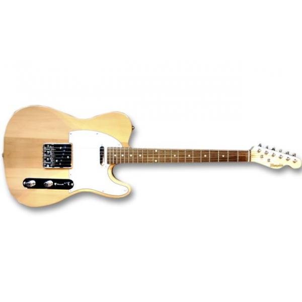 Guitarra eléctrica Telecaster color natural Memphis