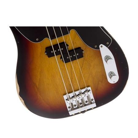 Fender Mike Dirnt Road Worn Precision Bass, Rosewood Fing bajo