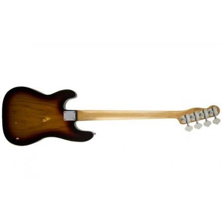 Fender Mike Dirnt Road Worn® Precision Bass®, Maple Fingerboard, 3-Color Sunburst