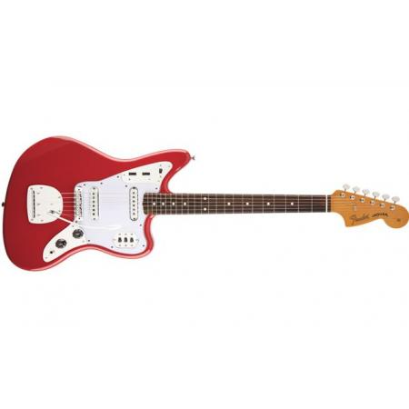 Guitarra Electrica Fender 60s Jaguar® Lacquer, PF, Fiesta Red