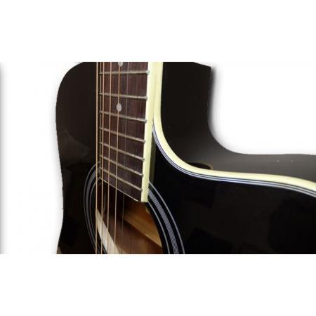 Memphis CF68BK superflat guitarra electroacústica