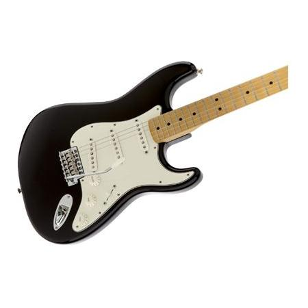 Fender Standard Stratocaster, Maple Fingerboard, Black