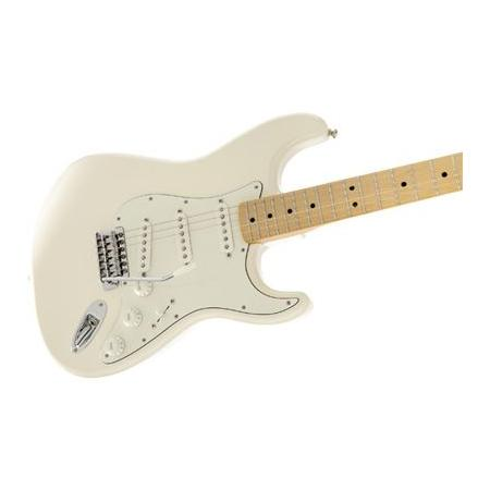 Fender Standard Stratocaster, Maple Fingerboard, Arctic White Fingerbo
