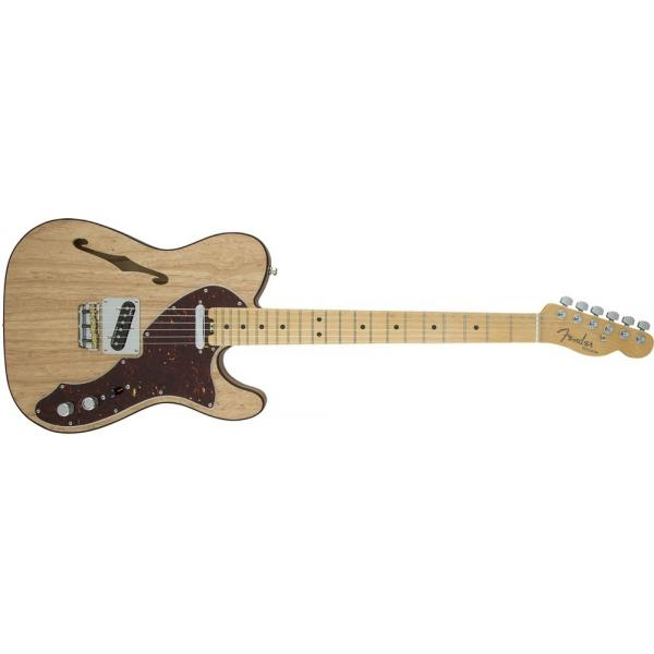 Fender American Elite Telecaster® Thinline, Maple Fingerboard, Natural