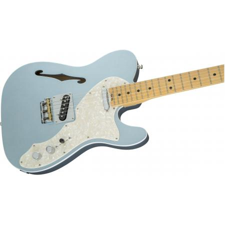 Fender American Eilte Telecaster® Thinline, Maple Fingerboard, Mystic Ice Blue