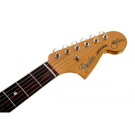 American Johnny Marr Jaguar®, Rosewood Fingerboard, Olympic Whit