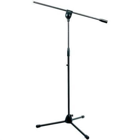 Pie de micrófono jirafa negro Memphis