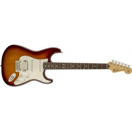 Fender Deluxe Stratocaster® HSS Plus Top with iOS Connectivity, Rosewood Fingerboard, Tobacco Sunburst