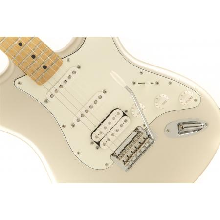 Fender Deluxe Stratocaster® HSS with iOS Connectivity, Maple Fingerboard, Blizzard Pearl