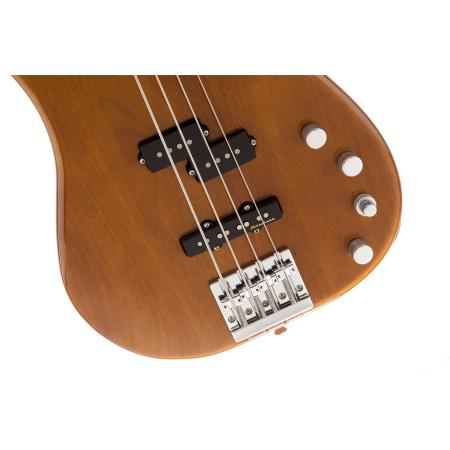 Fender Bajo Deluxe Active P Bass® Okoume, Rosewood Fingerboard, Natural