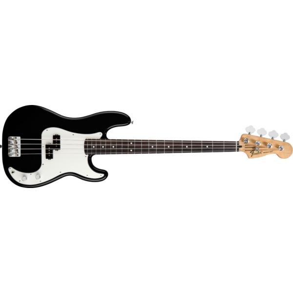 Fender Standard Precision Bass, Rosewood Fingerboard, Blac
