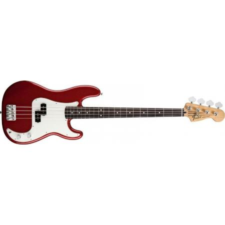 Fender Standard Precision Bass, Rosewood Fingerboard, Cand