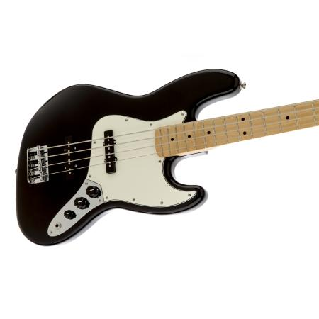 Fender Standard Jazz Bass Maple Fingerboard, Black