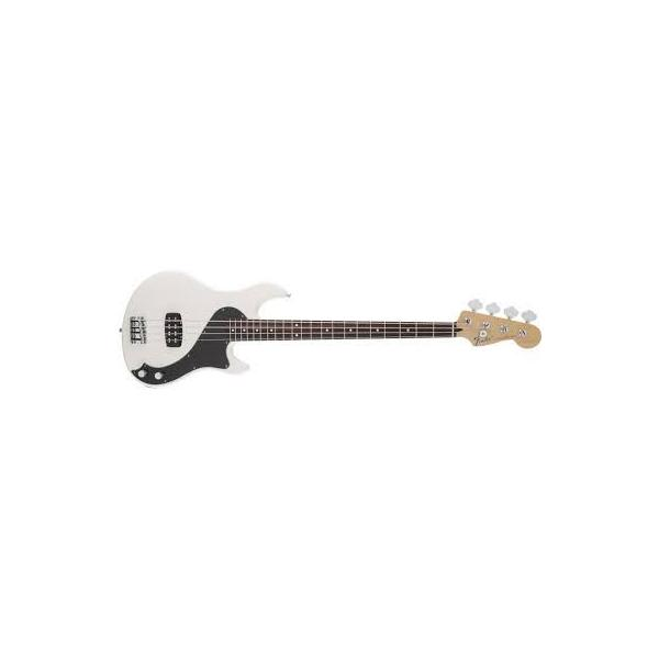 Fender Bajo Standard Dimension™ Bass IV, Rosewood Fingerboard, Olympic White