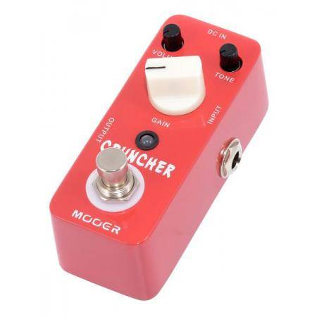 Mooer Cruncher Distortion pedal guitarra