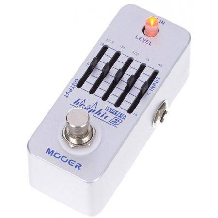 Mooer Graphic B 5 band bass EQ pedal para bajo