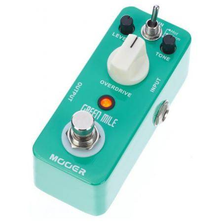 Mooer Green Mile Overdrive pedal guitarra