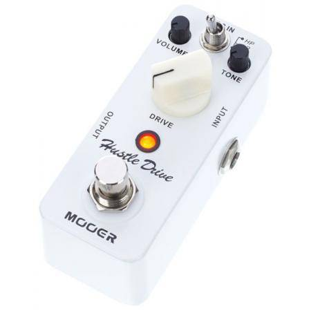 MOOER HUSTLE DRIVE DISTORTION PEDAL GUITARRA