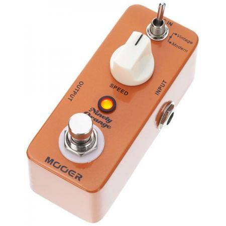 MOOER NINETY ORANGE PHASER PEDAL GUITARRA
