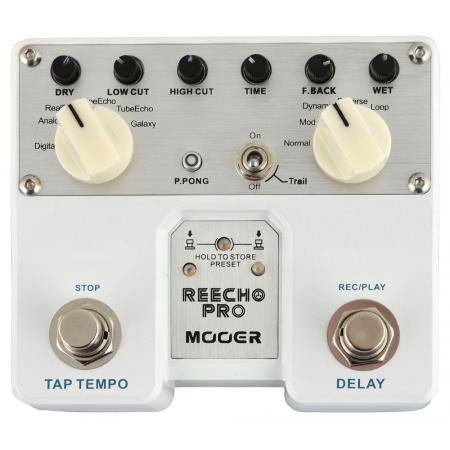 Mooer Reecho PRO Digital delay pedal guitarra