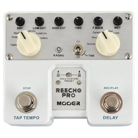 Mooer Reecho PRO Digital delay pedal guitarra