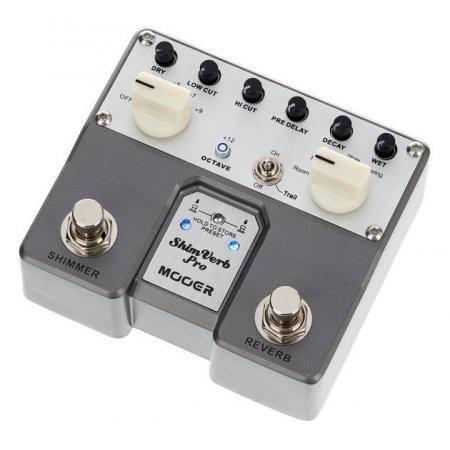 Mooer Shimverb PRO digital pedal guitarra
