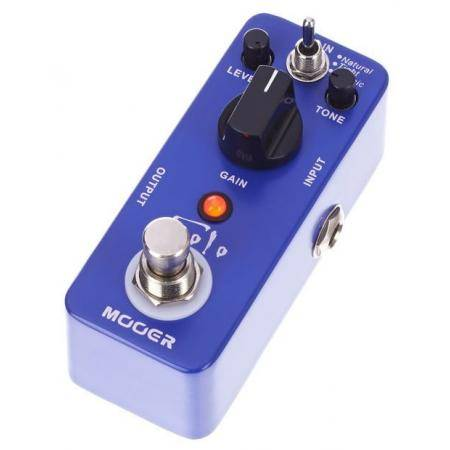 MOOER PEDAL GUITARRA SOLO DISTORTION