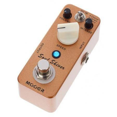 Mooer Soul Shiver Multi modulation pedal guitarra