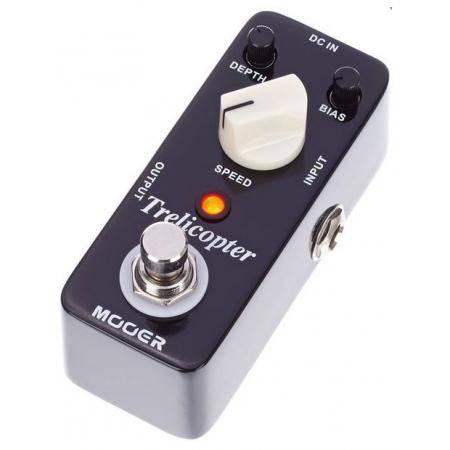 Mooer Trelicopter Tremolo pedal guitarra