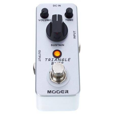 TRIANGLE BUFF Fuzz pedal MOOER