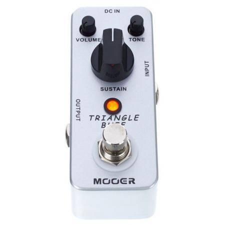 TRIANGLE BUFF Fuzz pedal MOOER