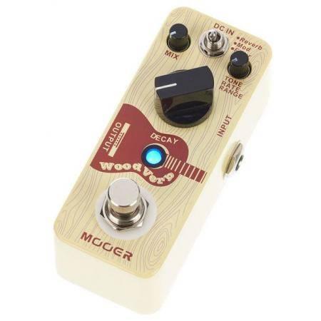 Mooer Woodverb Acoustic reverb pedal guitarra