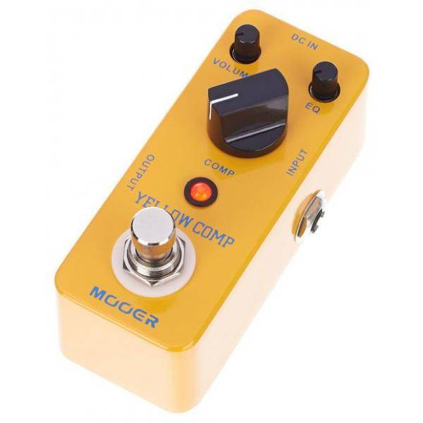Pedal Guitarra Yellow Comp Compressor Mooer