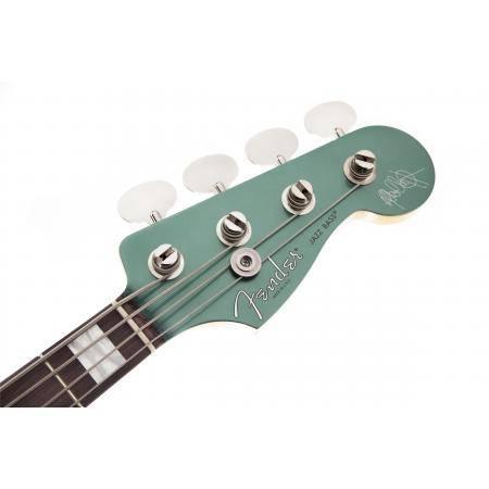 Fender Bajo Adam Clayton Jazz Bass®, Rosewood Fingerboard, Sherwood Green Metallic