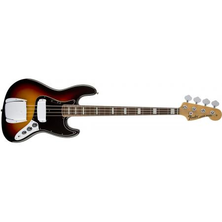 Fender Bajo American Vintage '74 Jazz Bass®, Bound Round-Laminated Rosewood