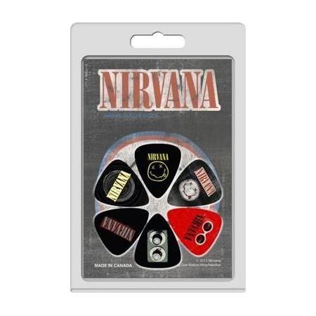 Perri's set 6 púas Nirvana