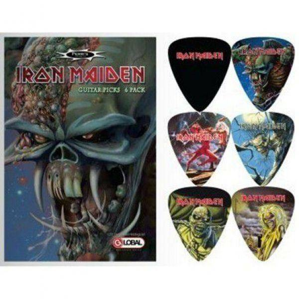 Perri's set 6 púas Iron Maiden