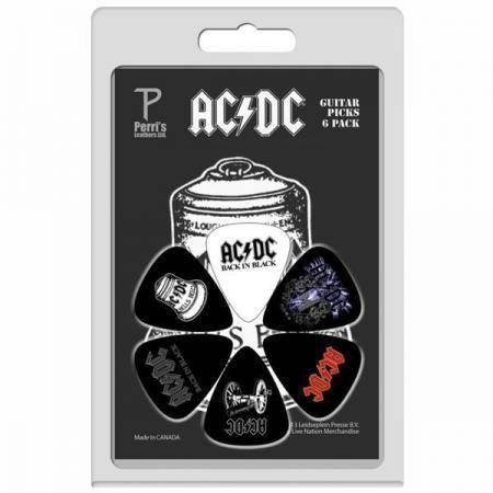 Perri's set 6 púas AC/DC