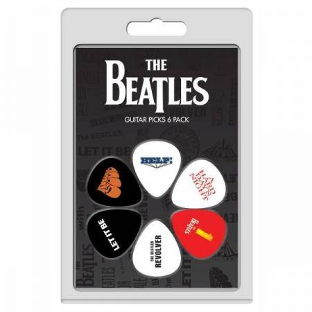 Perri's set 6 púas The Beatles