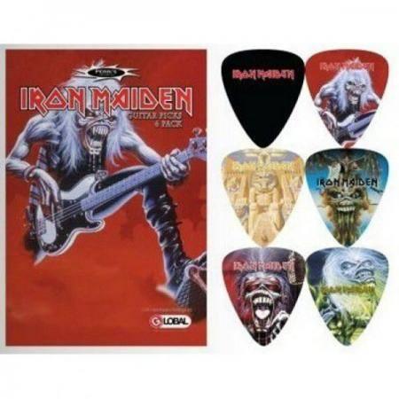 Perri's set 6 púas Iron Maiden