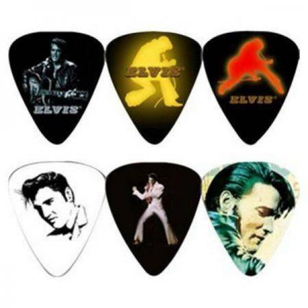 Perri's set 6 púas Elvis Presley