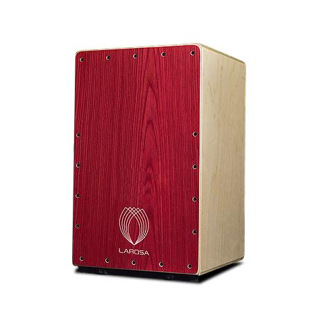 Cajón La Rosa Red Studio