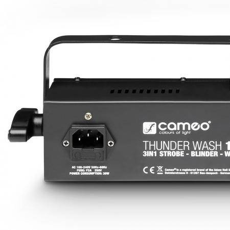 Cameo thunderwash Estrobo, cegadora y washer