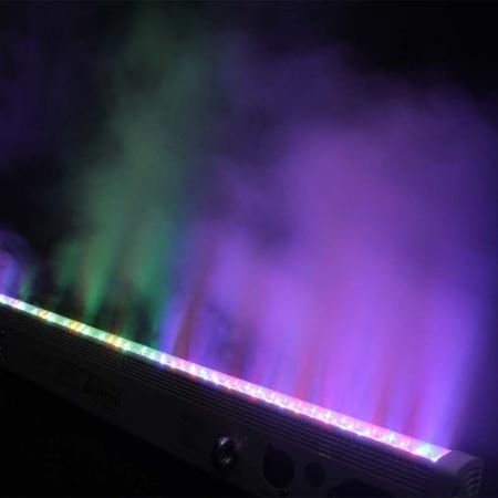 Cameo Bar 10 RGB IR 252 x 10 mm LED RGB Colour Bar black with IR Re