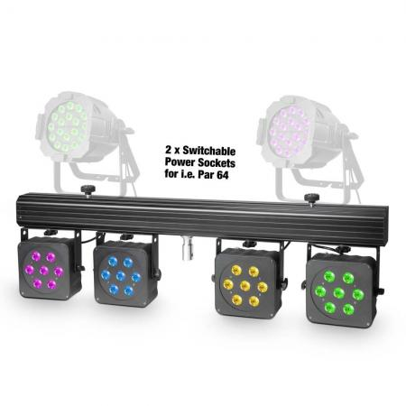 Cameo Set de de Luces 7x8 Quad Colour